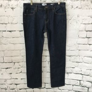 William Rast Men's Dean Slim Straight Jeans 33X30
